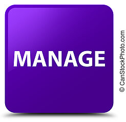 Manage purple square button