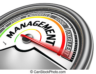 management conceptual meter