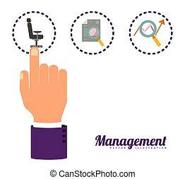 management, design
