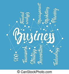 Management Development Business Brainstorming Infographic