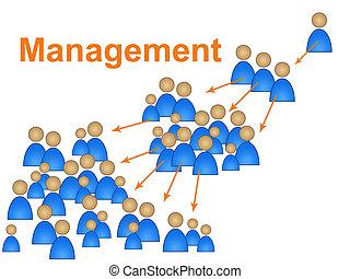 management, directeur, autoriteit, indiceert, directeuren, ...