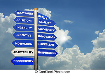 Management directions metaphor - many uses in the ...
