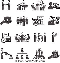 Management Icons Set