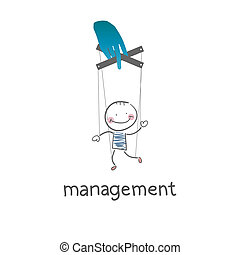 Management. Illustration.