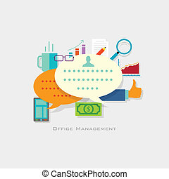 management, kantoor