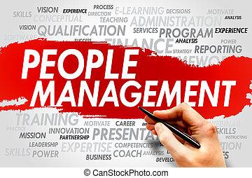management, mensen