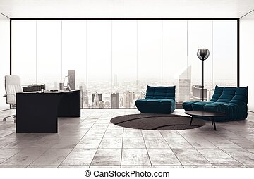 Management office - Luxury executive office with city view...