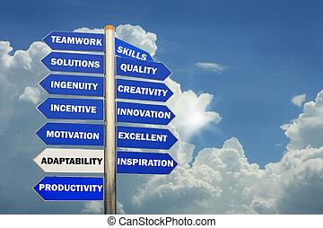 management, richtingen