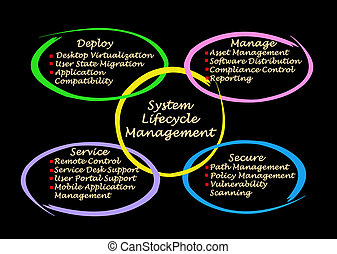 management, systeem, lifecycle