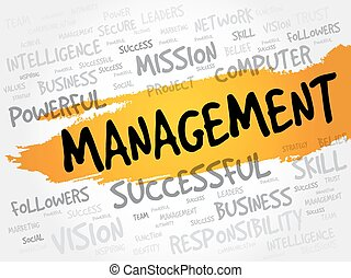 MANAGEMENT word cloud