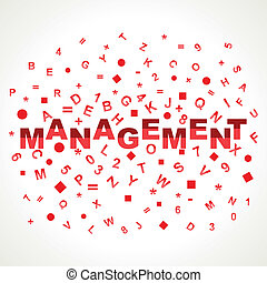 Management word with in alphabets
