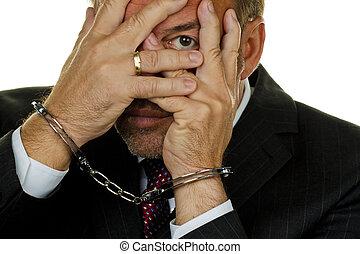 Manager arrested for Economic Krminilait