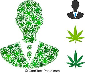Manager Composition of Hemp Leaves