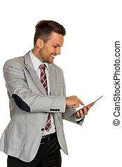 manager, edv, tablette