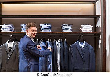 manager, in, kaufmannsladen