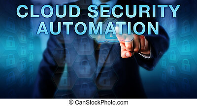 Manager Pushing CLOUD SECURITY AUTOMATION
