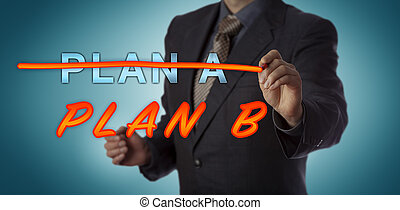 Manager Striking Out PLAN A To Activate PLAN B - ...