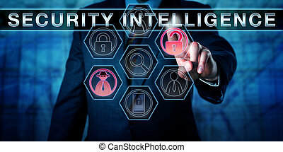 Manager Touching SECURITY INTELLIGENCE