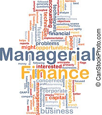 Managerial finance is bone background concept - Background ...