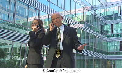 managers on the phone