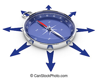 Managing Opportunities, Help - One compass in the middle of...