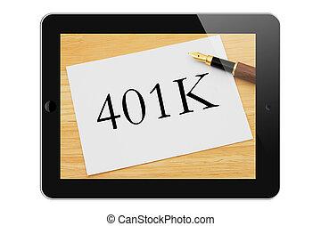 Managing your 401k Online