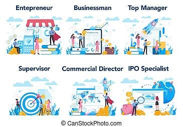 managment, ∥あるいは∥, 作成, 特徴, set., 上, 専門職, ビジネス