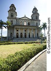 managua nicaragua cathedral