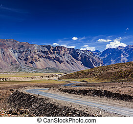 Manali-Leh road