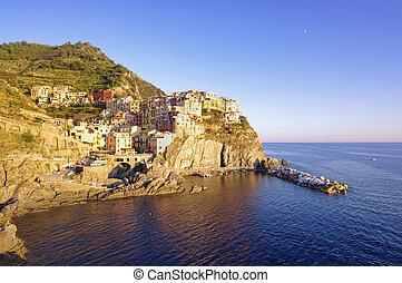 Manarola old village in Cinque Terre, Italy