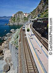 Manarola train station, Cinque Terre