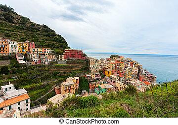 Manarola village in Cinque Terre