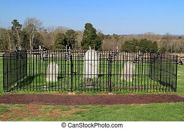 Manassas National Battlefield Park Cemetery
