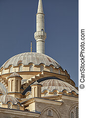 Manavgat mosque domes
