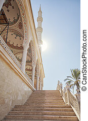 Manavgat mosque steps