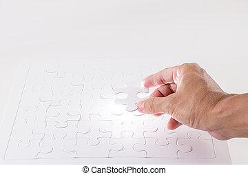 mancante, luce, puzzle, pezzo sega traforo, splendore