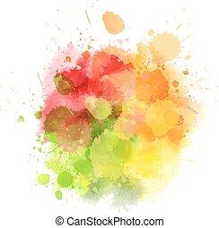 mancha, multicolor