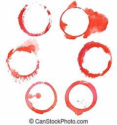 manchas, jogo, vinho, vermelho, 6