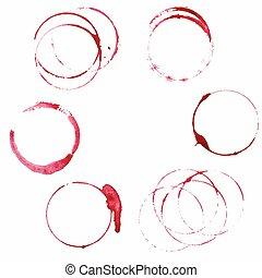 manchas, jogo, vinho