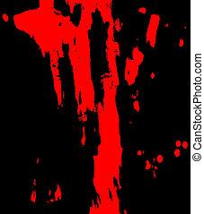 manchas vermelhas