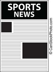 manchete, notícia, esportes