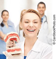 mandíbulas, doctor, grande