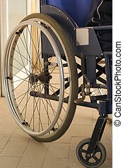 mand et wheelchair