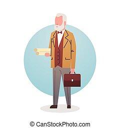 mand, professor, lærer, ikon, universitet, materiale, arbejder, professionel, erhverv