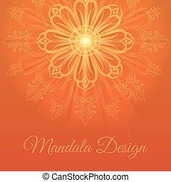 Mandala abstract background