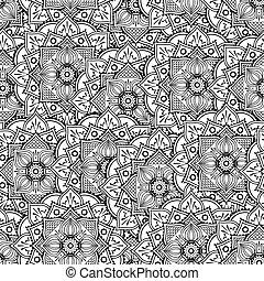 mandala abstract seamless pat...