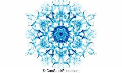 Mandala air energy, live mandala with rhythm of breath,...