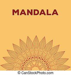 mandala bohemic element oriental