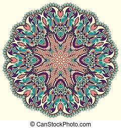 circle decorative spiritual indian