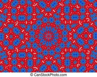 mandala cloth - pattern, mandala look like image made from...